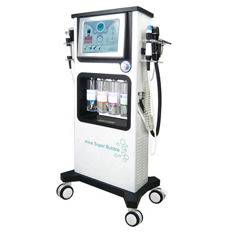 2020 new 7in1 Manufacturer hydro microdermabrasion facial machine oxygen jet peel facial whitening hydro facial aqua peeling home device