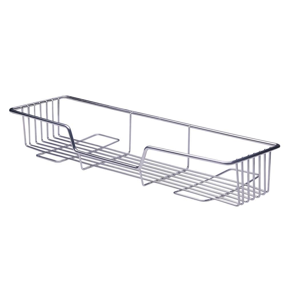 Inicio Organizador del estante multifuncional de acero inoxidable titular de baño práctico