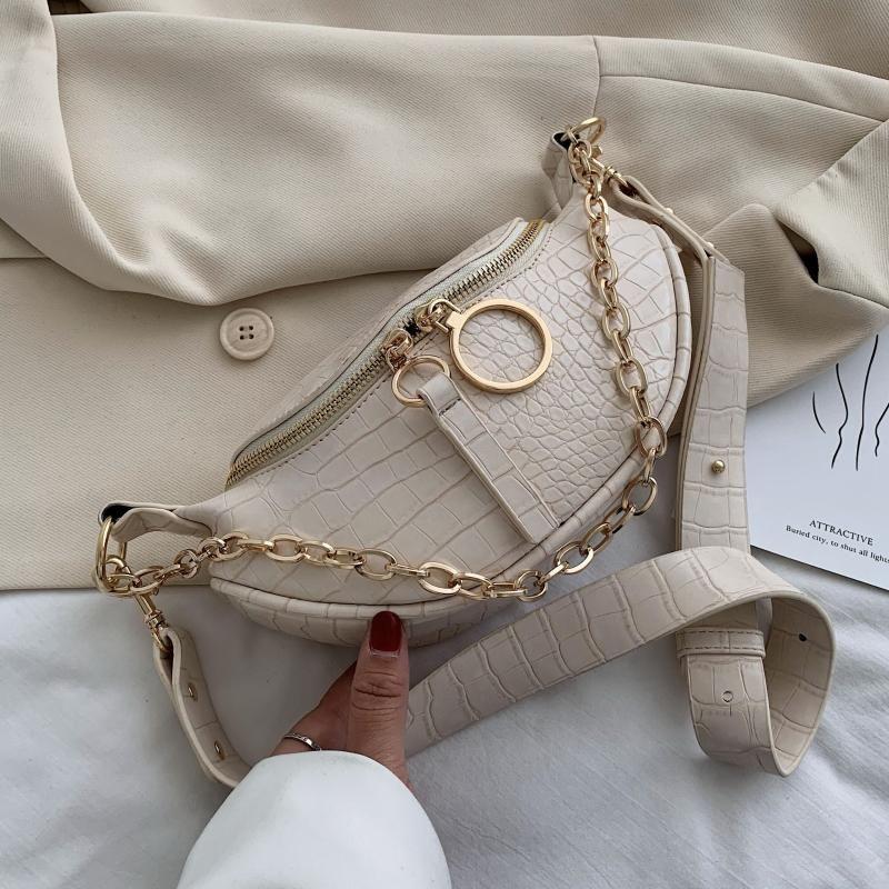 Leather Shoulder Travel Female Women For Body 2020 Simple Fashion Cross Small Chain Crossbody Bags Bag Handbags PU Aiilb