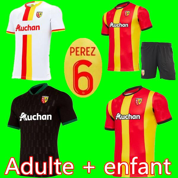 2021 20 21 Rc Lens Home Soccer Jersey Gradit Fortes Cahuzac Perez 2020 2021 Men Kids Kit Rc Lens Maillot De Foot Camisa De Futebol Football Shirt From Football1718 13 72 Dhgate Com
