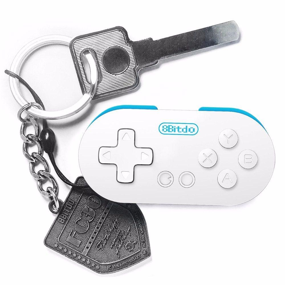 Gamepad inalámbrico libre de DHL Mini 8Bitdo CERO Bluetooth regulador del juego del obturador para la obturación de Android para el iPhone Windows Mac OS
