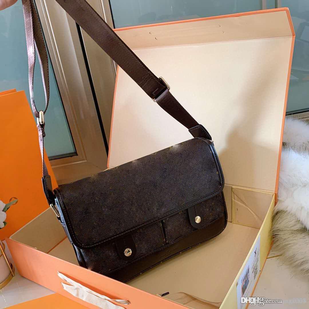 Di alta qualità, semplice, stabile e low-key sacchetto degli uomini di stile di affari della moda degli uomini con il sacchetto appeso inclinazione e SI