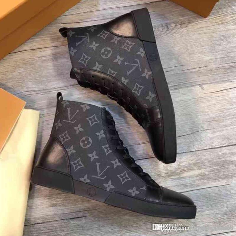 Hochwertige Mode Luxus Männer Sportschuhe Mode Freizeitschuhe Luxuxqualitäts Männer beuten Luxus Jugend Männer Schuhe mit Kasten size38-45
