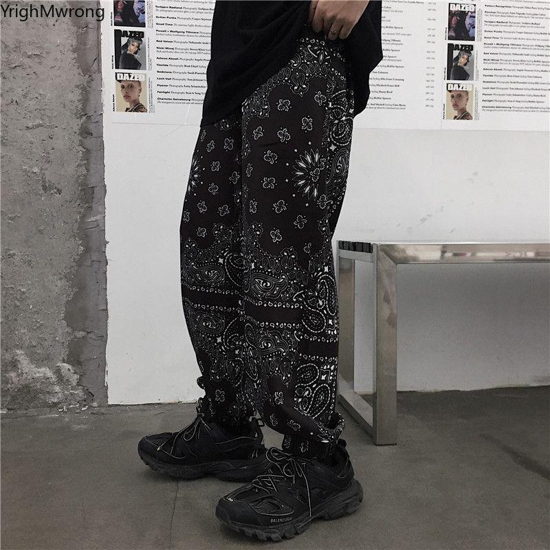 بالاضافة الى حجم الزي اثنين من قطعة باندانا الهيب هوب حريم عداء ببطء المسار رجل امرأة بانت الشارع الشهير المتناثرة بنطلون الكورية المتضخم Blusas CX200821