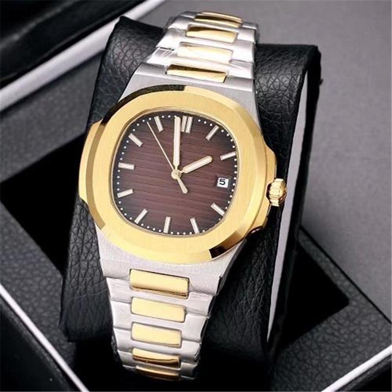 2020 Топ продавая высокое качество автоматические механические часы из нержавеющей стали ремешок Nautilus мужчин мужские часы часы
