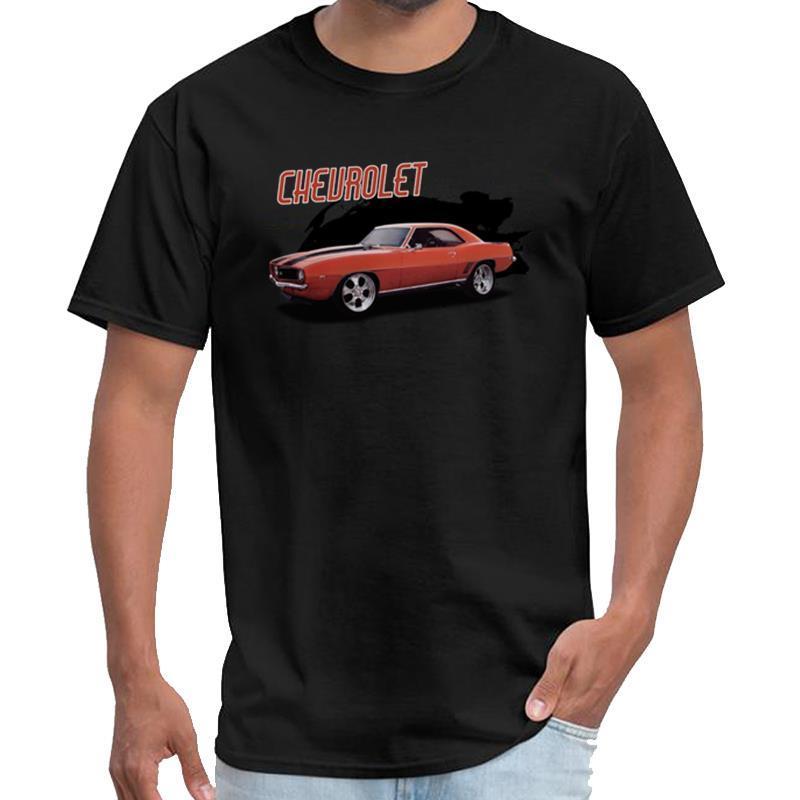 Personalidad de encargo viejo Camaro Tokyo Ghoul camiseta de algodón camiseta mujer hombre más normal de tamaños s-5XL