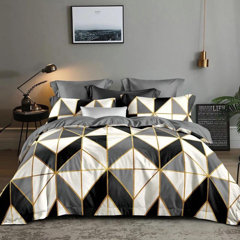 LOVINSUNSHINE Grigio Doppio copripiumino trapunte per Queen size Imposta Bedding copertina T200814