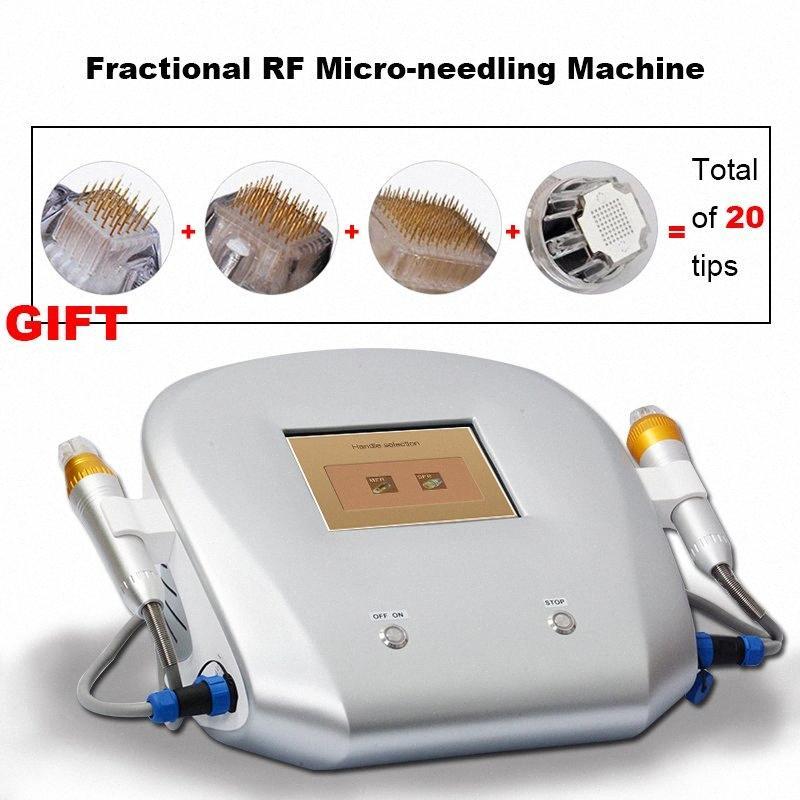 Радиочастотная Microneedle Rf Подтяжки кожи машины красоты Домащний Тепловое Face Lift RF Anti Age Оборудование Хади #