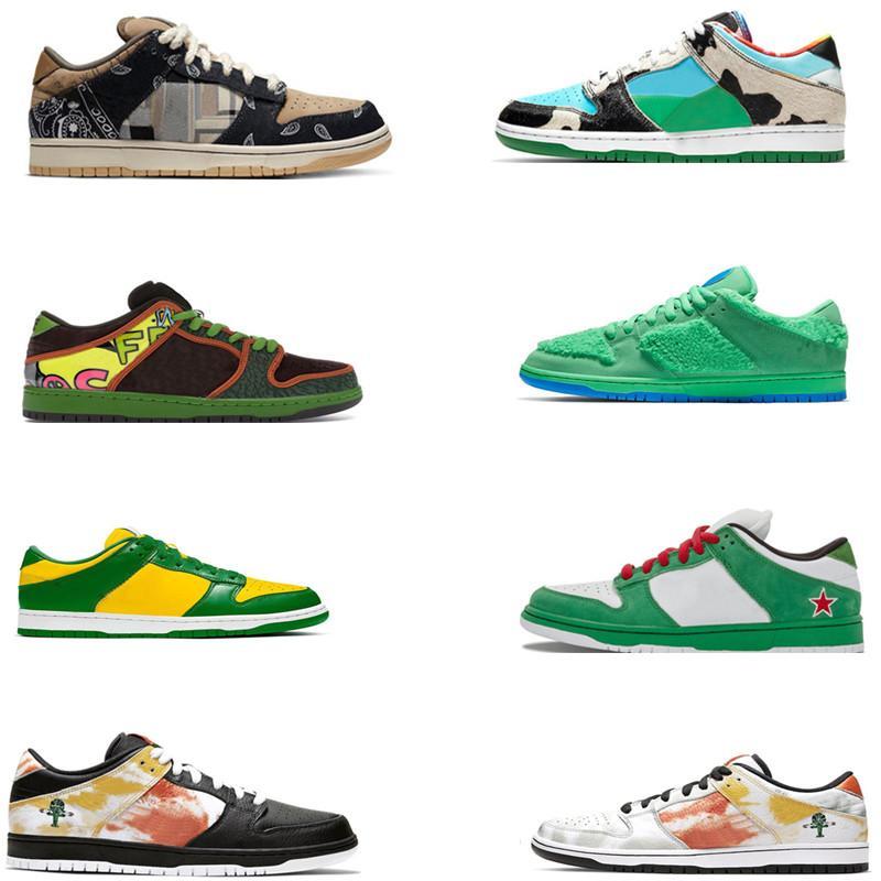 Nike Dunk SB shoes Low 2020 جديد مكتنزة Dunky قليلة من الرجال والنساء الاحذية جامعة الأحمر الدب الأخضر كنتاكي سيراكيوز سفاري إمرأة رياضية أحذية رياضية أحذية تزلج