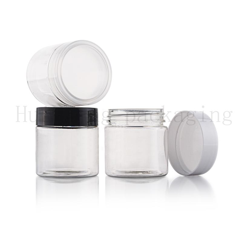100шт 30g ясно пустой образец для ухода за кожей крем банку, крем косметический пластиковый горшок может контейнеры бутылки, сливки бутылки