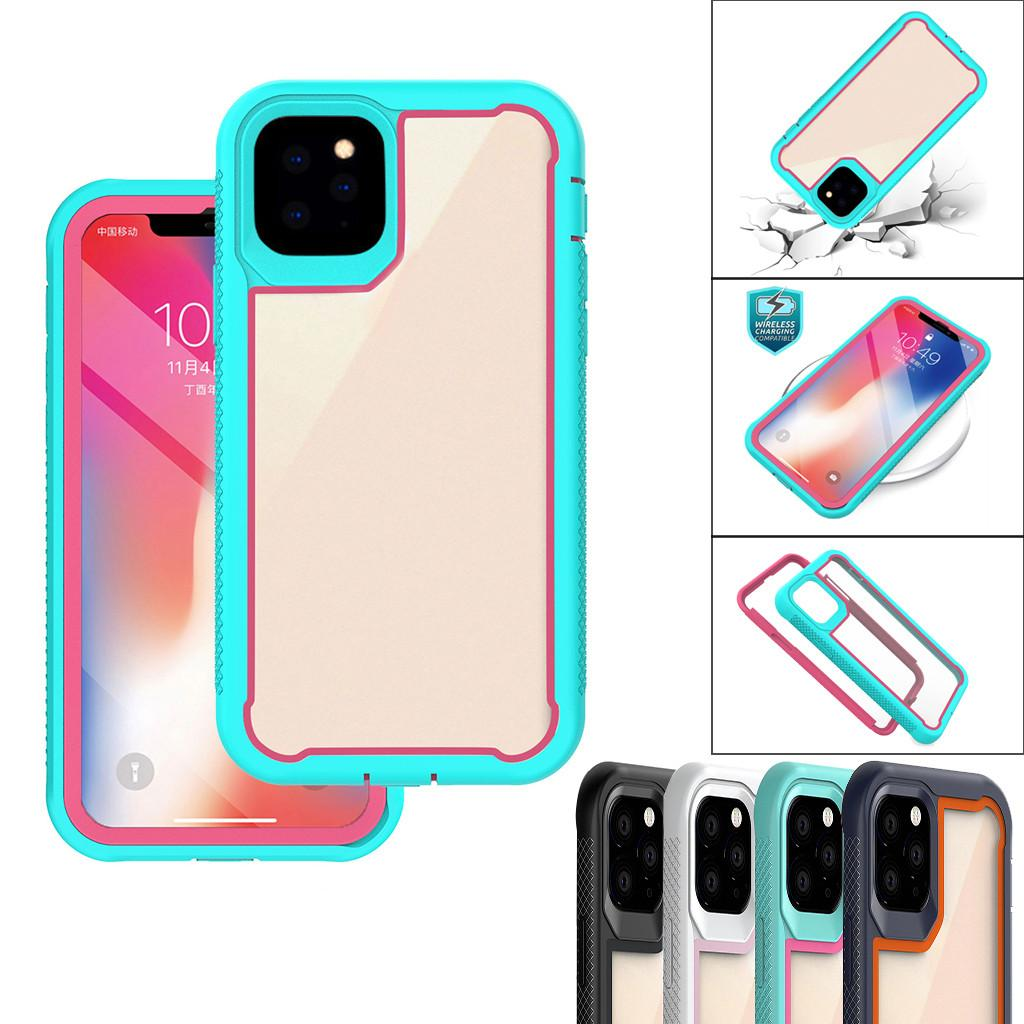 New Arrival Designer 3 in 1 Anti-drop Phone Case for iphone 11 pro max Shockproof Shield Phone Protection Cover for iphone 6 7 8 XS MAX XR
