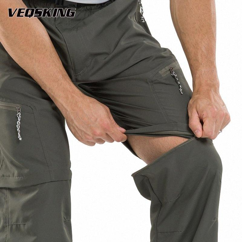 Estate Quick Dry escursionismo pantaloni esterna impermeabile Trekking Sport Arrampicata Trekking pantaloni da uomo di pesca escursionismo Shorts M-3XL cQO2 #