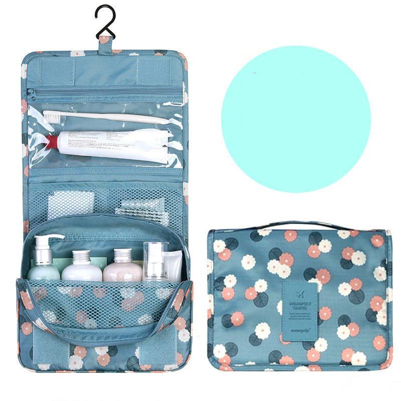 النساء ماكياج حقائب السفر حقيبة مستحضرات التجميل أدوات منظم للماء التخزين Neceser المعلقة الحمام غسل حقيبة ذات جودة عالية wjjdz