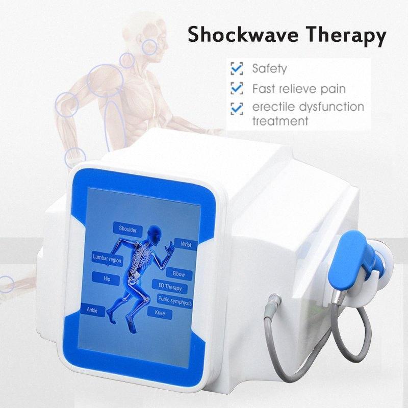 Función ortopedia acústica por ondas de choque Zimmer Terapia de la onda de choque de la máquina de eliminación de dolor para la disfunción eréctil ED Tratamiento XCab #