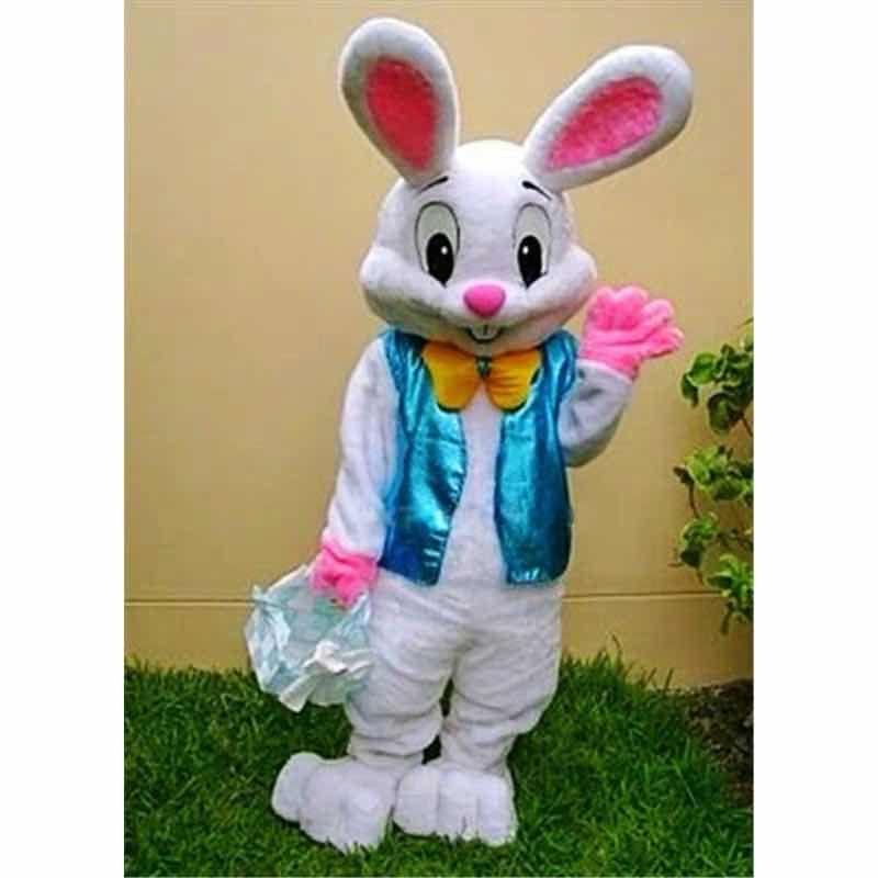 Costumes de mascotte de lapin de Pâques lapin Lapin Mascotte adulte