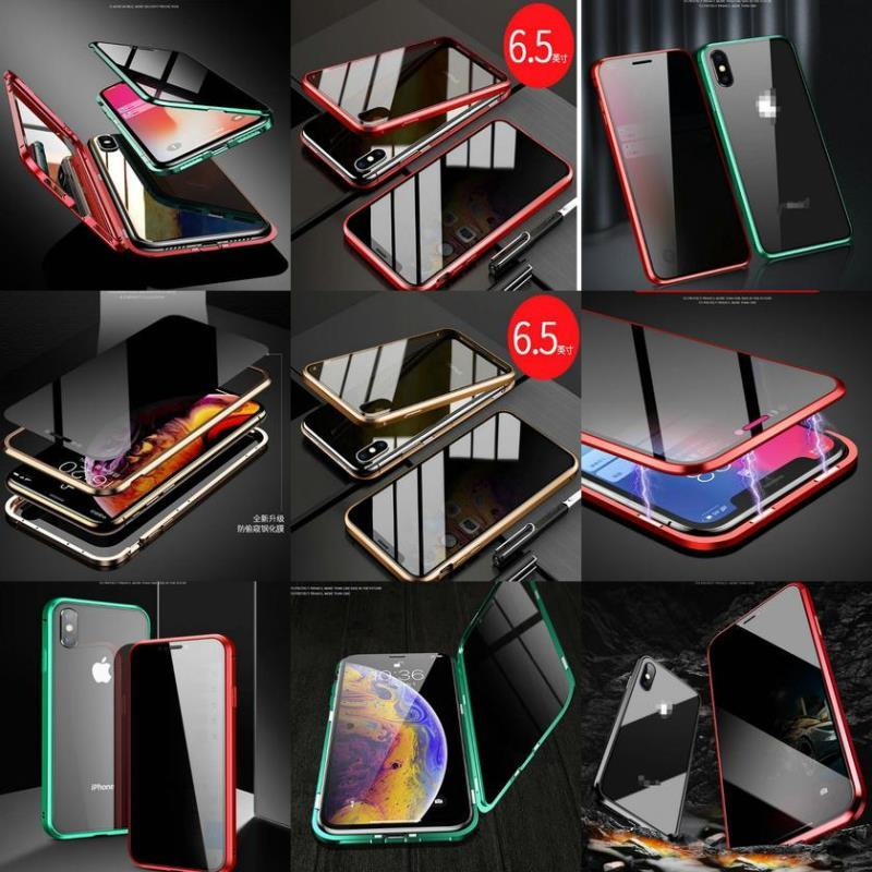 Cases 66s78plus Magnetic Xr Privacy Xs Iphone X Cover Back Glass Phone Tempered For Metal Screen Case 10 Anti-peep Max sqcmM longdrake