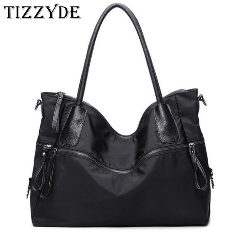 Il nuovo modo delle donne della borsa Hobos Borse a tracolla noto design femminile sacchetto di nylon Oxford impermeabile e Diamante Totes Borsa HSP03-C