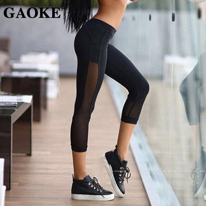 Women Yoga Pants Plus Size S-XL Sports Pants For Woman Lose Weight Sauna Sweat jogging Running Accessories