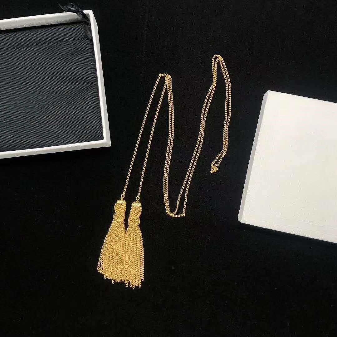 Nuovo temperamento selvaggio collana donne gioielli dal design di lusso designer di gioielli nappa