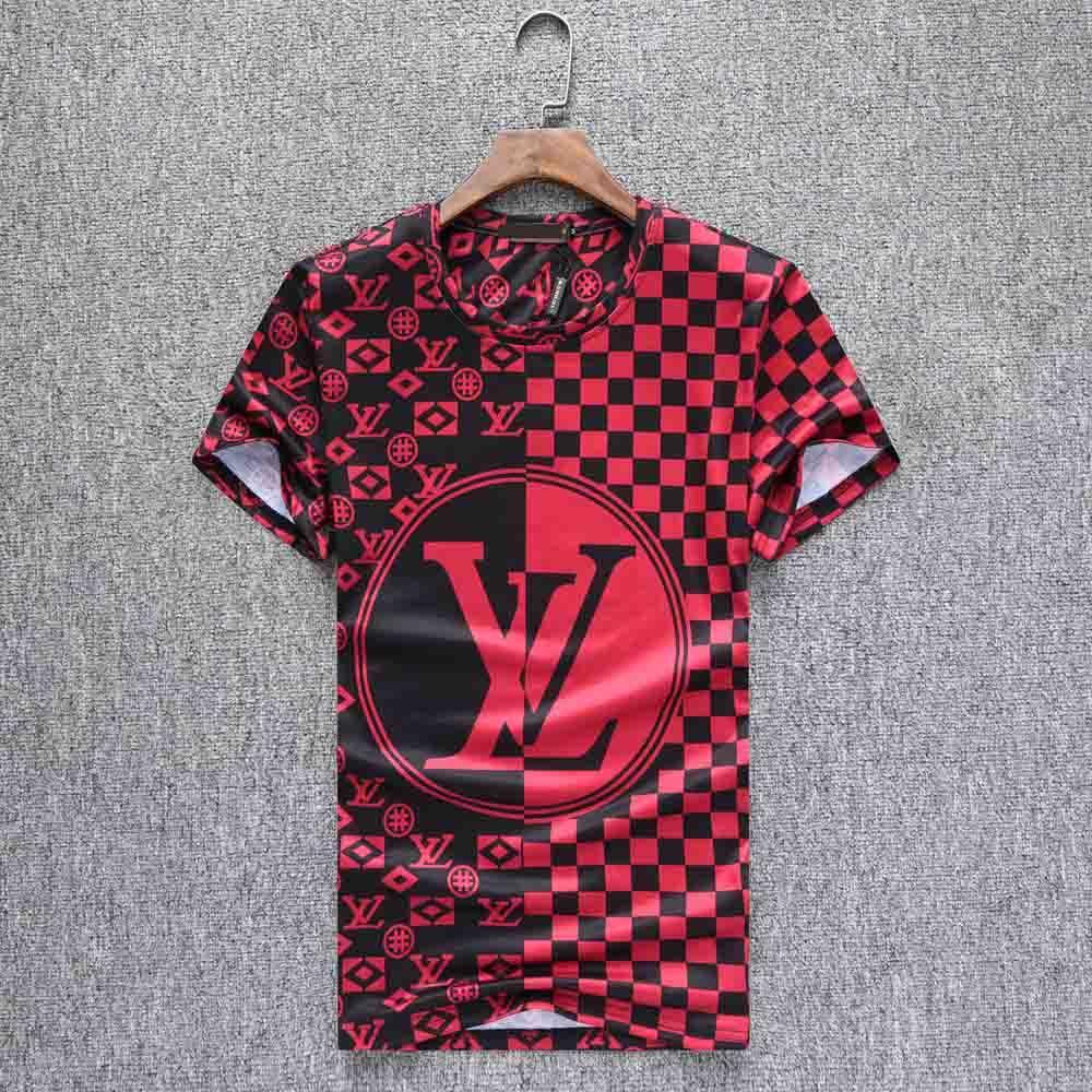 FF Nouvelle arrivée concepteur Hommes T-shirts à manches courtes t-shirts T-shirt mélange de coton pour l'été Marque de mode T-shirt avec broderie Lettre