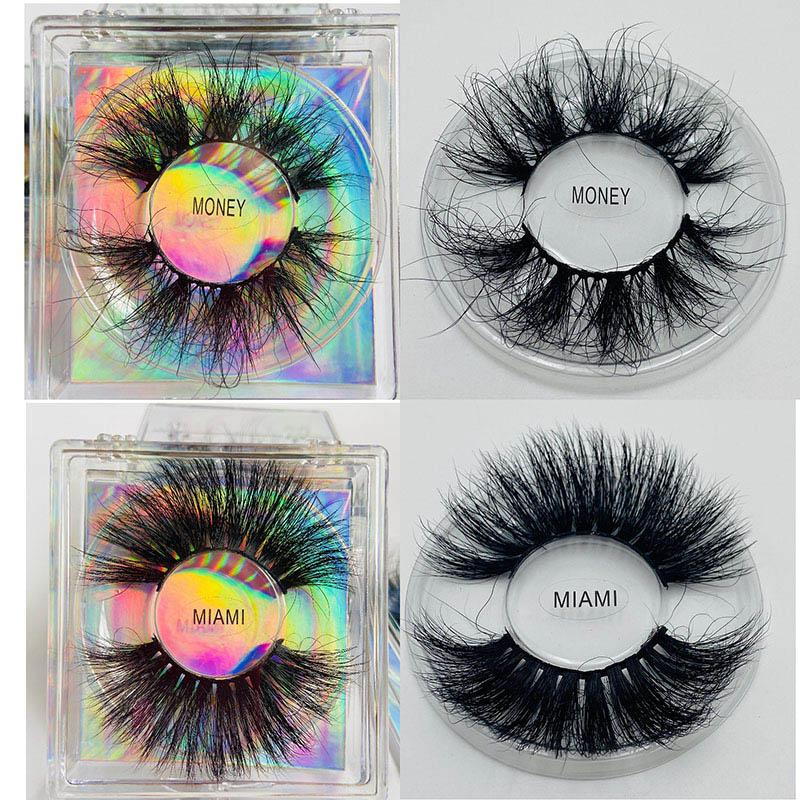 Hot sell fluffy natural 5d 100% real mink lashes/6d faux mink lashes high quality wholesale luxury 3d mink eyelashes