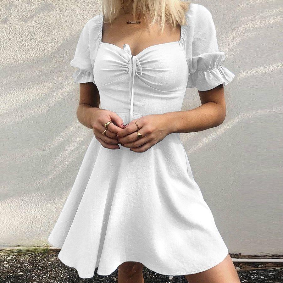 여름 우아한 사무실 숙녀 미니 플리츠 드레스 여성 파티 밤 드레스 주름 디자인 활 슬림 드레스 무료 배송