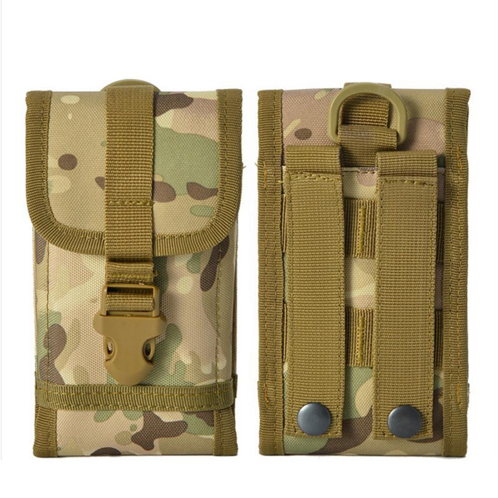 Новый вид Многофункциональный Тактические сотовый телефон мобильный телефон ремень сумка пакет Обложка для наружной охоты кемпинга талии сумка