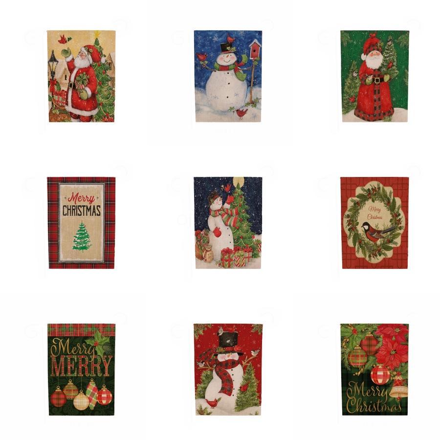 Serapilheira FELIZ NATAL Bunting Bandeira Bandeiras para a festa de Natal # 883