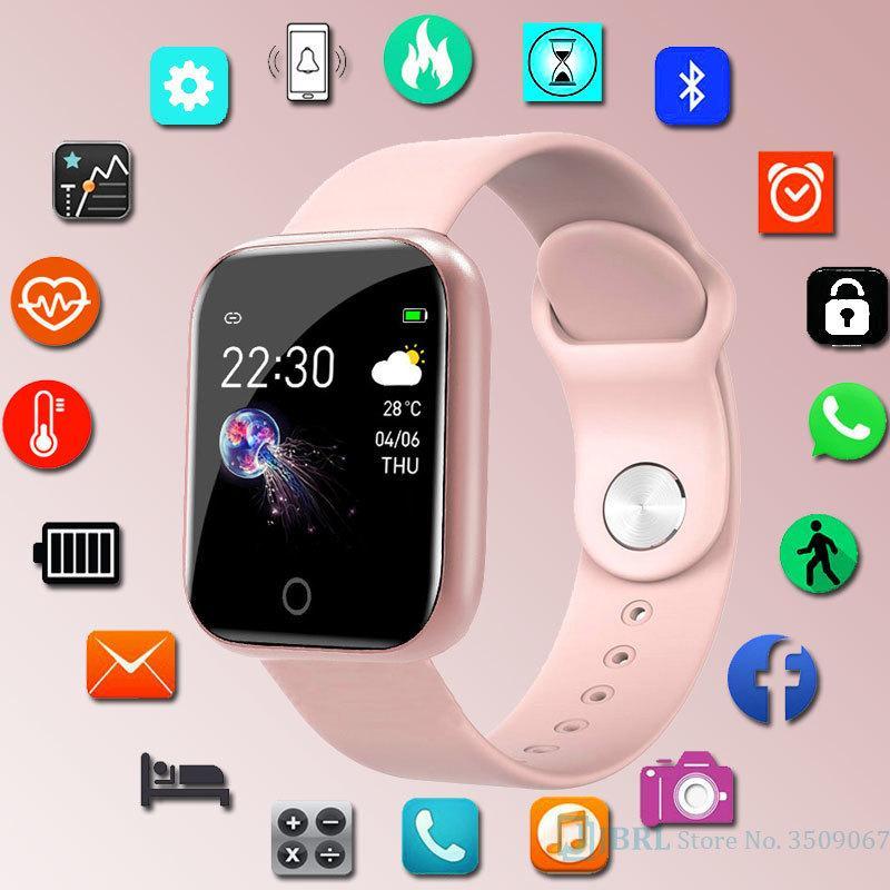 Uomo Donna Moda Smartband per Android IOS Wristband intelligente Bracciale Fitness Tracker Silicone Wrist Band Smartband