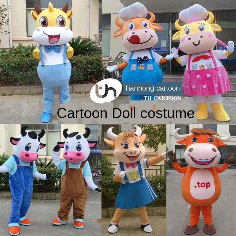 Dessin animé Prop costume poupée accessoires de marche adulte mascotte de vêtements de performance dessin animé vêtements de poupée