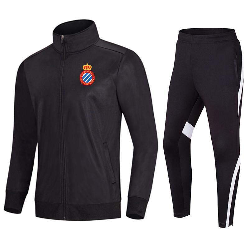 Эспаньол футбол одежда Равномерное футбол куртка Спортивная Quick Sports Training Dry Running баскетбол разогреть костюмы