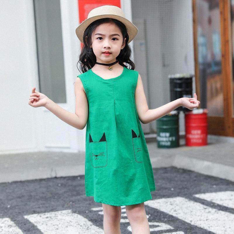 2020 2020 bambini di estate nuove ragazze vestono piccole e medie dimensioni per bambini Baby Dress 6rE2 #