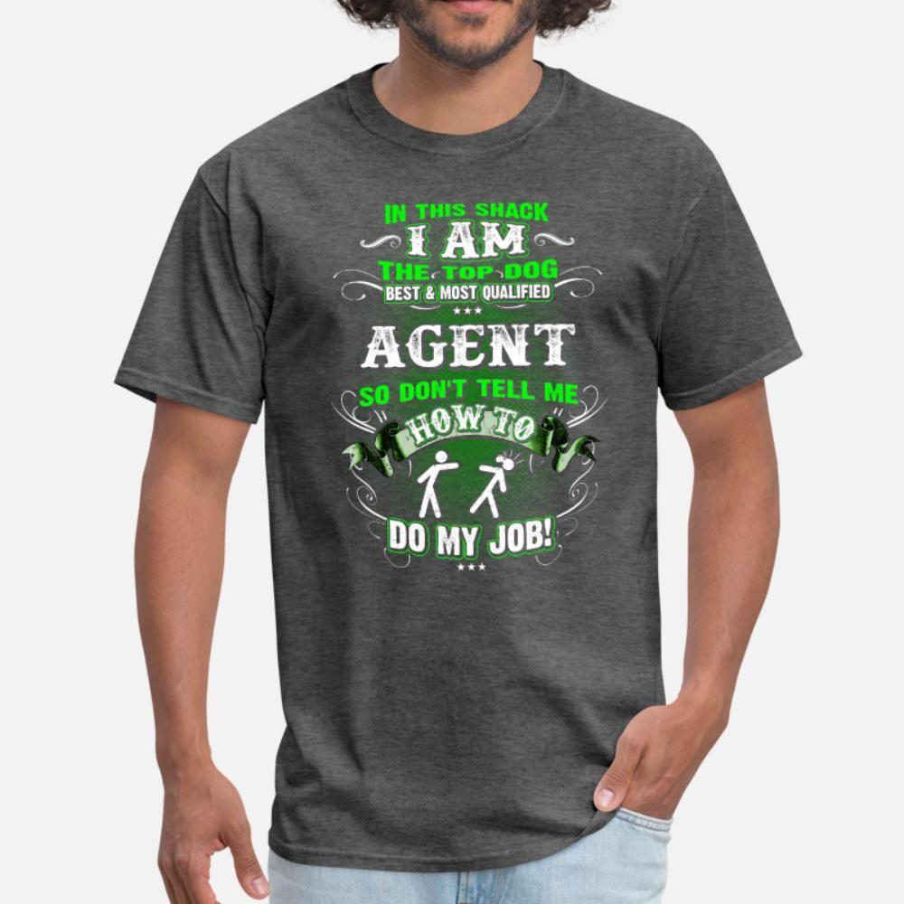 S hommes pour les hommes t-shirt Job Agent créer taille à manches courtes S-3XL normale en vrac Casual style d'été Photos chemise