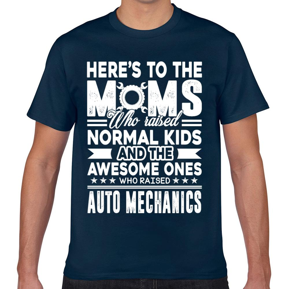 Tops T-Shirt Männer Automechaniker Automechaniker Mom Sommer Harajuku Geek Cotton männlich T-Shirt Xxx