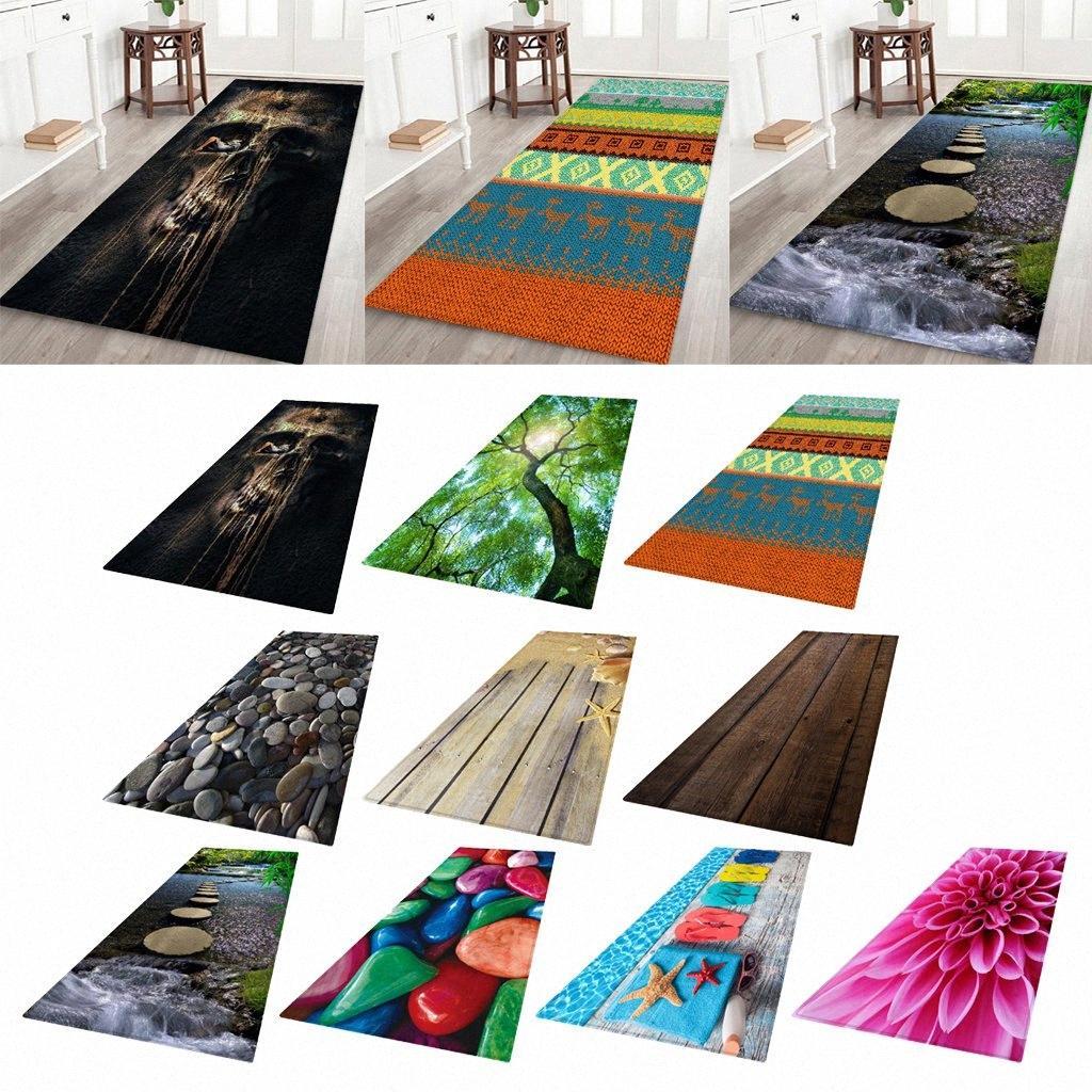 Picture of: Non Skid Hallway Runner Rug 3d Photo Printed Bedside Floor Carpet Door Mat Nsr1 Braided Rug Carpet Binding From Majiu02 21 88 Dhgate Com