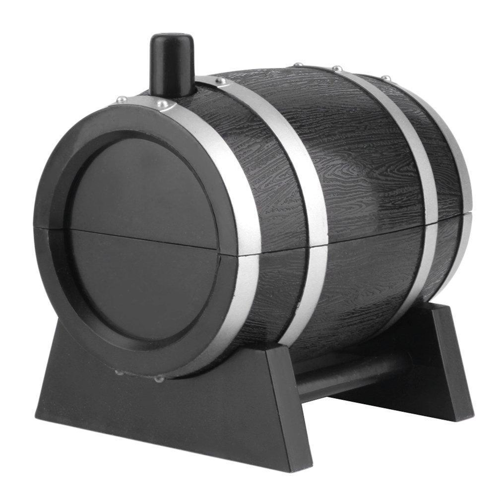 Nueva llegada de Hogares del barril de vino de plástico automática palillo titular dispensador envase de la caja Nuevo