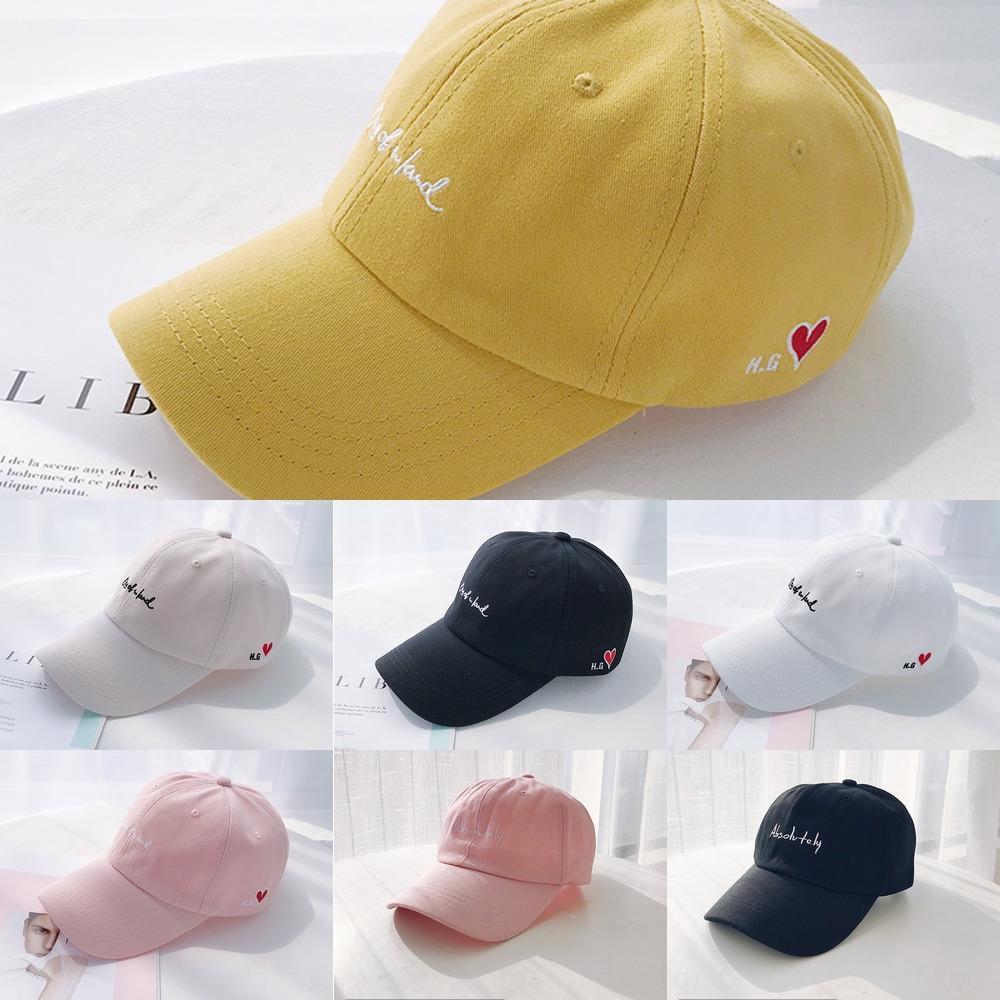 nignt Bayan beyzbol mektup beyzbol şapkası şapka İşlemeli şapka işlemeli çift Kore tarzı gündelik tüm maç yaz erkek kap moda Stu
