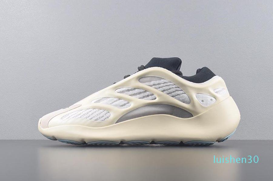 Erkek Kadın Ayakkabı Ucuz Vanta 700 V3 Alvah Azael Atalet Kanye West Sütlü Mıknatıs V2 Mist yabancı Runner Sneakers3 L30 Running Son 700 MNVN