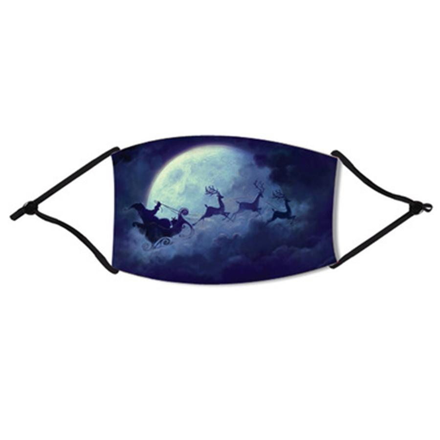 Divertente della novità Biden Maschera esterna Bandana Anime Stampa Maschere Scaldacollo Camping tubo Bandane viso Protezione tubolari # 907 # 604
