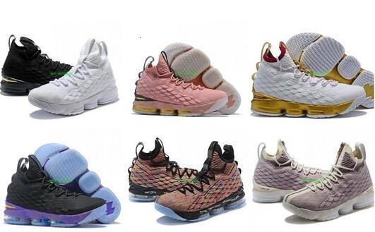 2019 todos los zapatos de baloncesto de igualdad 15s para hombre bhm Oreo nuevas zapatillas de deporte de igualdad 15 szie 40-46