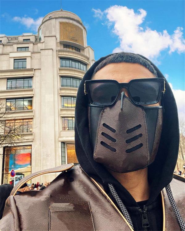 20ss manera de calidad superior de la mascarilla de diseño para Máscaras mujeres de los hombres de piel Luxe hombre reutilizable lavable boca para hombre con la bolsa de polvo de la caja