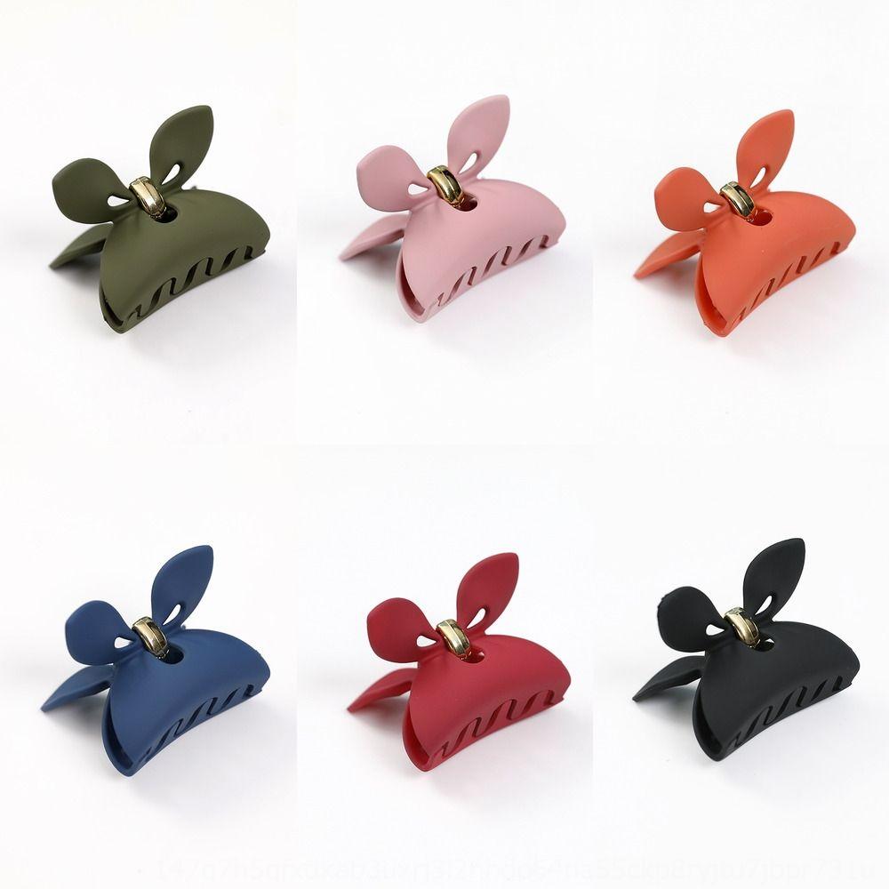 accesorios para el cabello de Corea nueva esmerilado textura del oído del conejito tu Er Er Tu clip de la parte superior de la horquilla medio de horquilla
