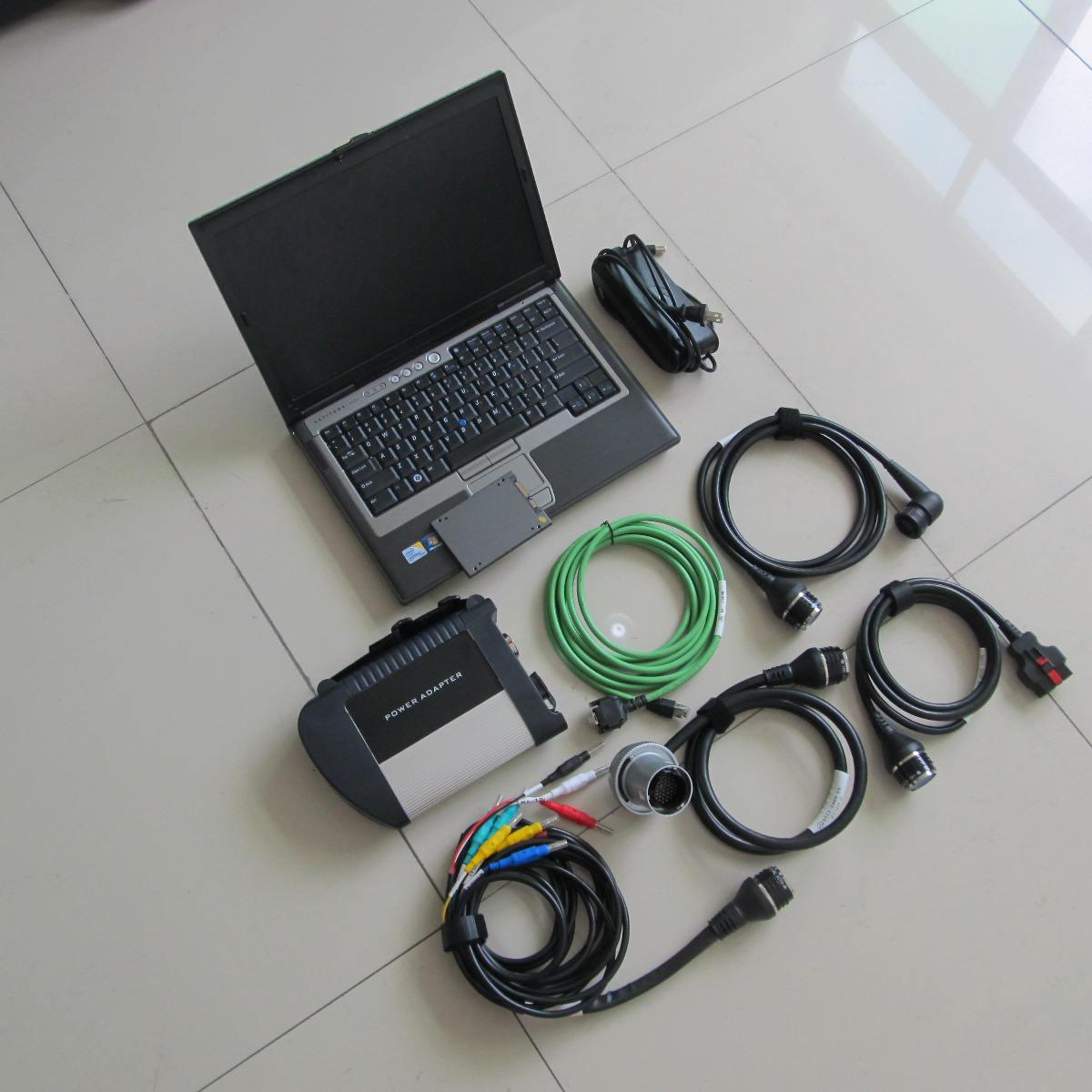 MB STAR SD Connect C4 Auto Diagnostic Tool con HDD 2021.06 in D630 Laptop Laptop Computer Lavori per lo scanner Diagnostici BZ