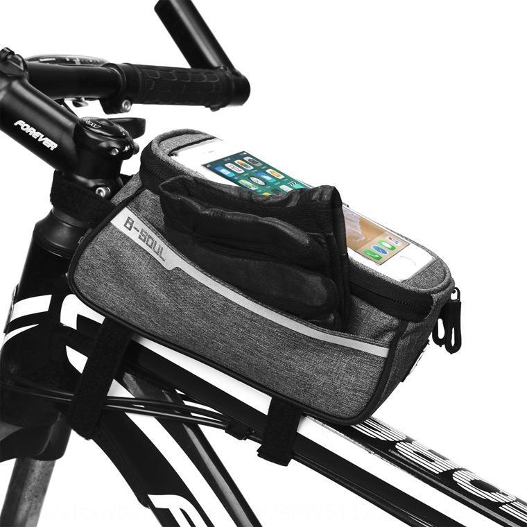 SOUL VTT poutre avant bicyclette bicyclette route poche tubulaire en sac de selle équipement de vélo hzblc