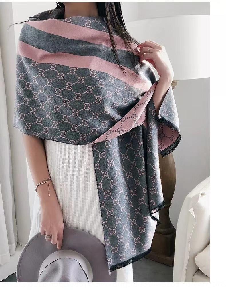 5SSRU 2020 новый полосатый классический женский весной и осенью лето кашемира как кондиционер шарф кондиционер шарф длинный двухсторонний