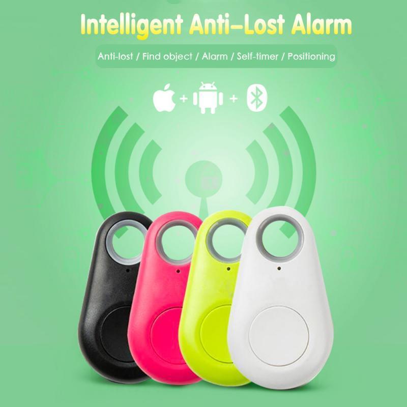 Smart Wireless Bluetooth 4.0 Tracer Locator allarme Mini Tag anti allarme perso Per raccoglitore chiave Pet Dog Smart Finder