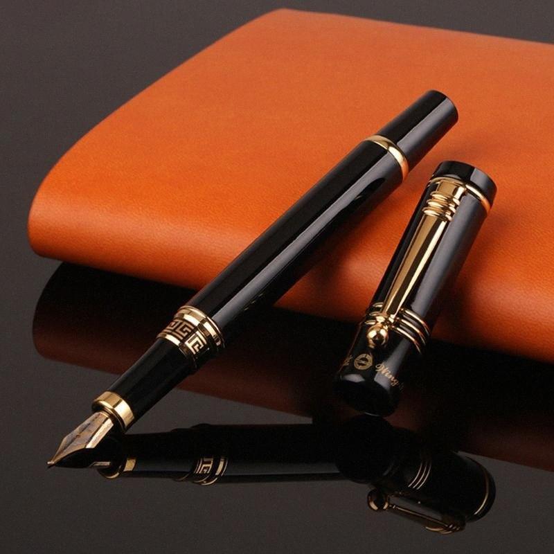 Homens Mulheres Fountain Pen Negócios Student 0,5 milímetros 1,0 milímetros Extra Fine Nib Caligrafia Escritório Escola Suprimentos Escrita Ferramenta L41E wRTm #