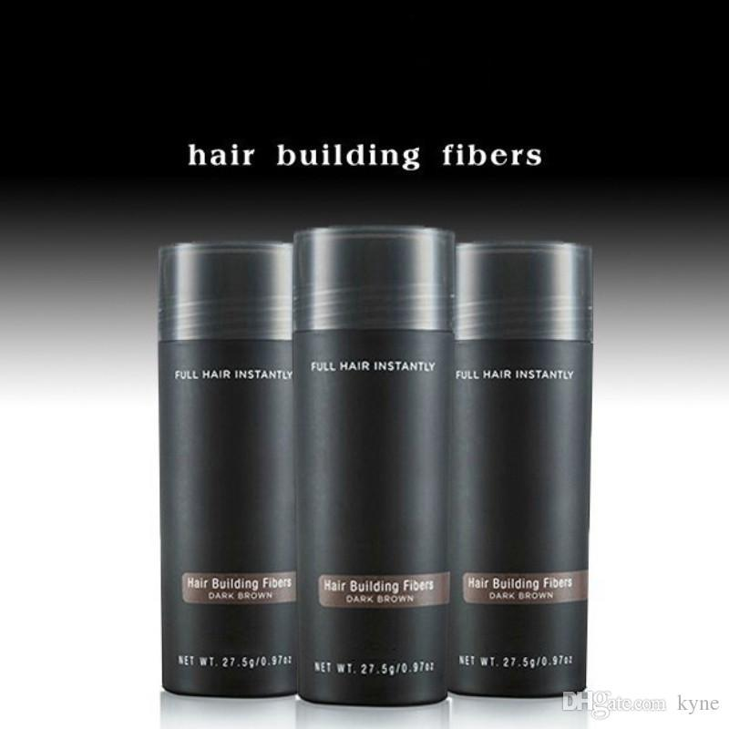 En Satıcı Marka Kozmetik 27.5 g Saç Fiber Keratin Toz İnce Saçlar Kapatıcı 10colors DHL Ücretsiz Kargo sıcak Sprey