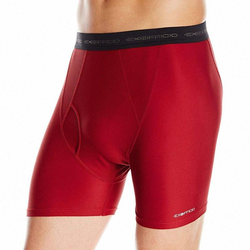 De haute qualité New Exofficio Sous-vêtements homme boxers de Tendez Style In Underwear Boxer Homme Cueca Hommes De Marque Noir Gris USA Taille S-X sQLU #