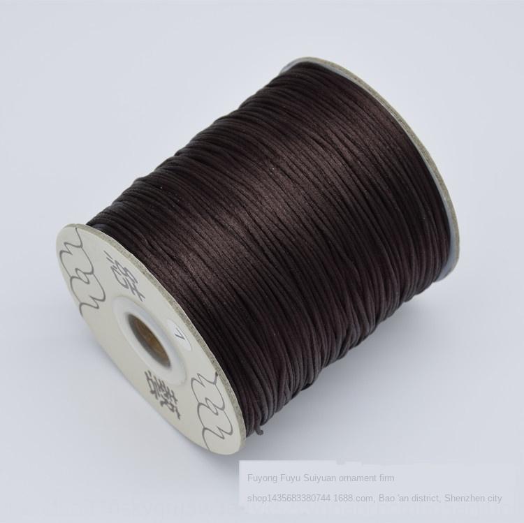 nylon alambre diy Corea nudo 6 7 seda DIY chino 5 joyería nudo chino cuerda de cáñamo tejido a mano cuerda roja fVjXR material de